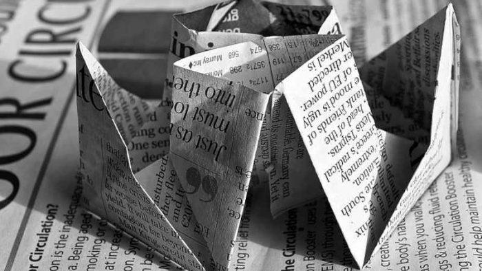 Diciture che indicano che la carta è riciclata